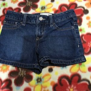 Girls jean shorts size 5 old navy